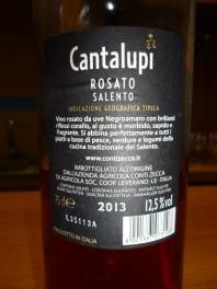 Cantalupi Rosato 2013