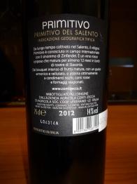 Primitivo 2012