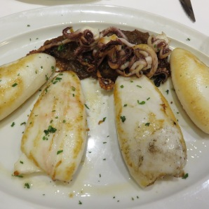 Grilled Squids