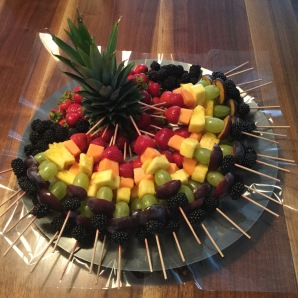 *Rainbow Fruit Skewers