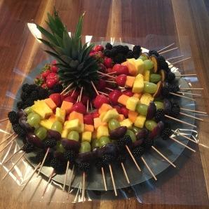 *Rainbow Fruit Skewers