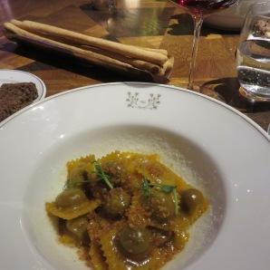 Piemontese-style agnolotti