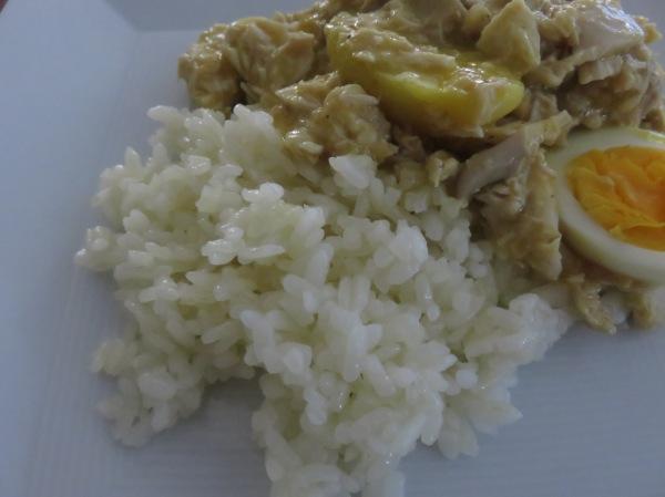 Peruvian Ají de Gallina with Rice