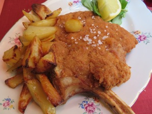my veal chop milanese