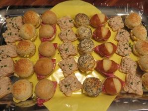 Salami Mini Sandwiches