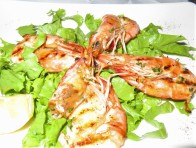 Classic Grilled Scampi