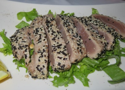 Tuna Steak with Sesame