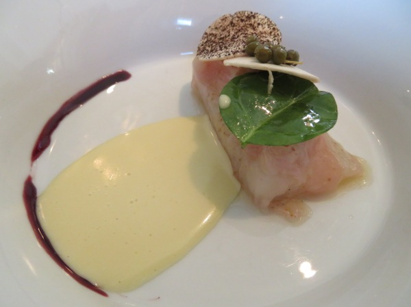 Zander - Onion/Lardo/Capers - Red Wine Reduction - BeurreBlanc