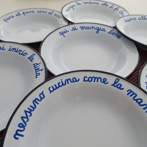 new plates for the upcoming picnics in the vineyard